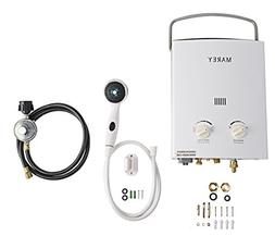 Marey 1.5 GPM Portable Tankless Hot Water Heater RV Camper P