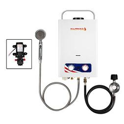 Camplux Pro 6L 1.58 GPM Outdoor Portable Propane Tankless Wa