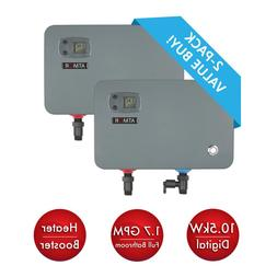 10.5 Kw/240-Volt 1.7 Gpm Electric Tankless Water Heater, On