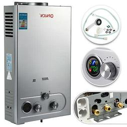10L Propane Gas Tankless Hot Water Heater LPG High Efficient