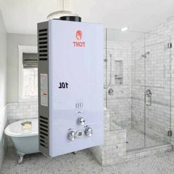 10L Tankless Instant Hot Water Heater Propane Gas LPG On Dem