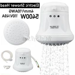 110V Electric Shower Head Instant Hot Water Tankless Heater