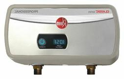 RHEEM 120V Undersink Electric Tankless Water Heater, 3500 Wa