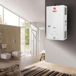 12L Natural Gas Tankless Hot Water Heater Instant On Demand