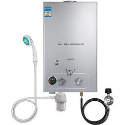 12L 3.2GPM Hot Water Heater Propane Gas Instant Tankless Boi