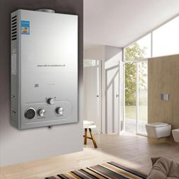 18L Instant Tankless Hot Water Heater Natural Gas Boiler Sil