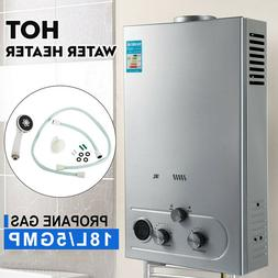 18L Natural Gas Hot Water Heater 5GPM On-Demand Tankless Ins