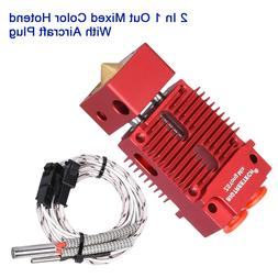 BIGTREETECH 2 In 1 Out Hotend Mixed Color 1.75MM Filament 3D