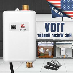 3000W 110V Mini Electric Tankless Instant Hot Water Heater K