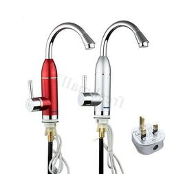 3000W Electric Faucet Tap Hot Cold Water Heater Instant Kitc