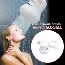 5400W 110V/220V Electric Shower Head Heat Instant Hot Water