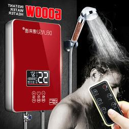6000w electric tankless instant hot water heater