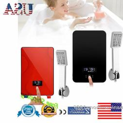 6500W 220V Tankless Instant Hot Water Heater Kitchen Electri