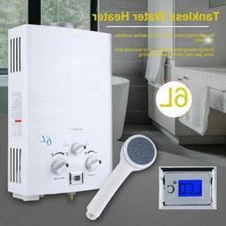 6L 1.6GPM Portable Tankless Hot Water Heater RV's & Campers