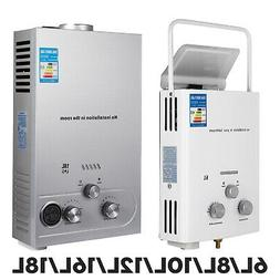 VEVOR Tankless Hot Water Heater Propane Gas LPG On-Demand Di