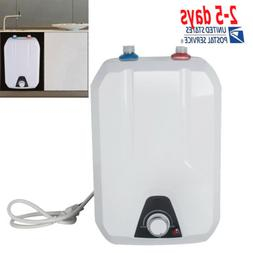 8L Electric Tankless Hot Water Heater 55℃-75℃ Kitchen Ba