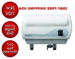 Atmor Tankless Electric Instant Hot Water Heater Inline Sink