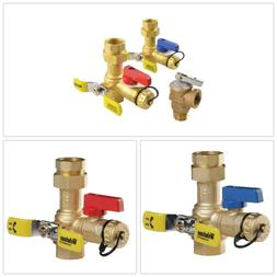 BRASS SERVICE VALVES Tankless Water Heaters Parts Accessorie