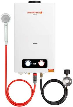 Camplux 2.64 Gpm Portable Tankless Water Heater,Easy Install