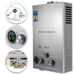 Natural Gas Hot Water Heater 12L Tankless Instant Boiler 3.2