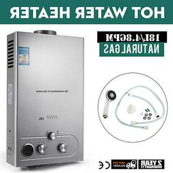 Natural Gas Tankless Hot Water Heater 18L Instant On Demand