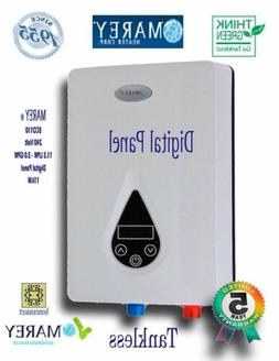 Marey 240V Electric Digital On Demand Tankless Water Heater