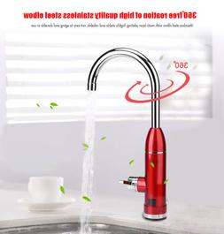 Electric Faucet Tap Hot Cold Water Heater Heat Instant Kitch