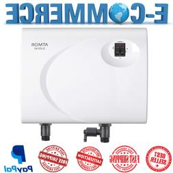 Electric Tankless Hot Water Heater White 110V, 3000 Watts Co