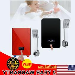 Electric Tankless Instant Hot Water Heater System Portable S