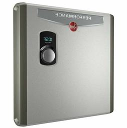 Rheem Electric Tankless Water Heater Instant Hot 27 kw Self-