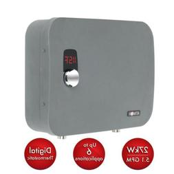 Electric Tankless Water Heater Self Modulating 27Kw 240-V 5.