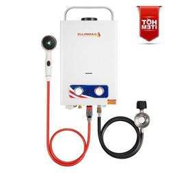Fast Propane Tankless Gas Water Heater For RV Boat Home Offi