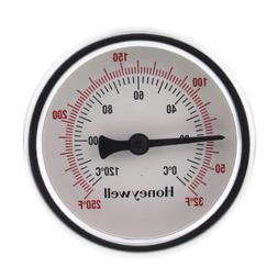 """Honeywell-Sparco GT162 1/2"""" NPT Connection Thermometer w/ 2-"""