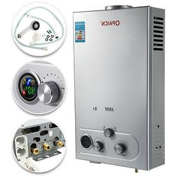 Hot Water Heater Propane Gas LPG 8L On-Demand Tankless Water