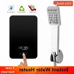 Instant Electric Water Heater Bathroom Shower Tankless Hot W