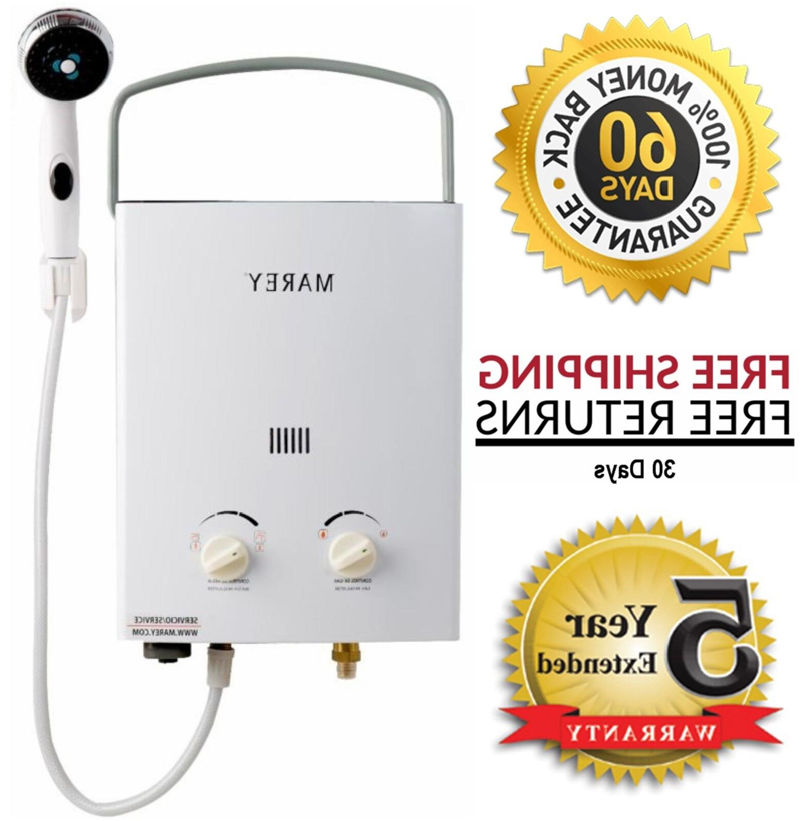 Marey Tankless Water Heater RV Propane GA5PORT
