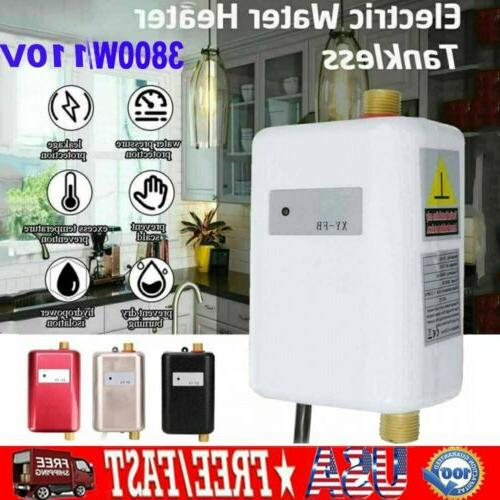110v 3800w electric tankless instant hot water
