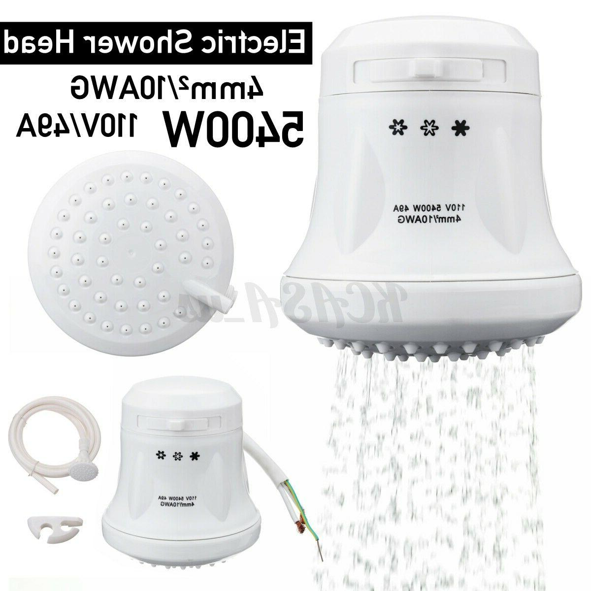 110v electric shower head instant hot water
