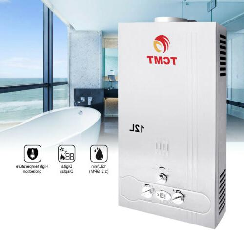 12l natural gas tankless hot water heater