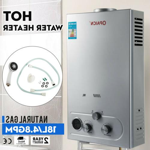 18l 5gpm hot water heater natural gas