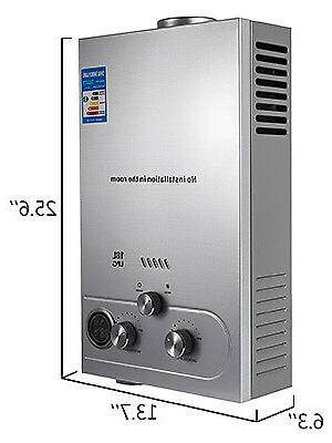 18L 4.8GPM Hot Heater Gas Instant Tankless Boiler w/ Shower
