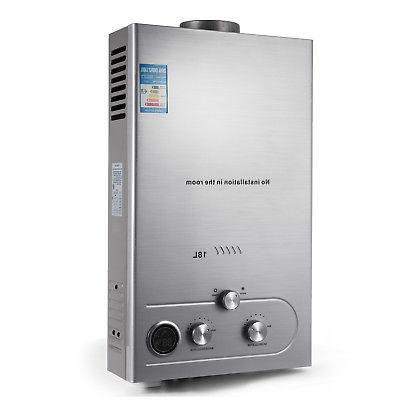 18L Natural Water Heater On Shower