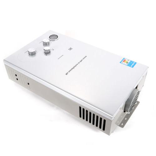 Hot Water Stainless Steel Silver Tankless