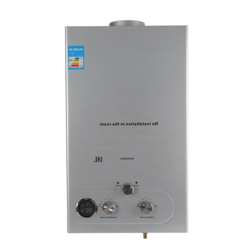 Hot Water Stainless Steel Natural Silver Tankless