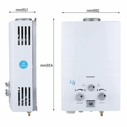 2 Tankless Hot Water & Campers LPG