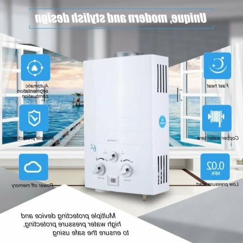 2 gpm portable tankless hot water heater