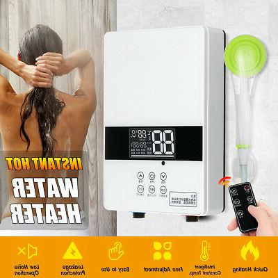 220v 6000w instant hot water heater tankless