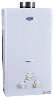 Marey 3.1 GPM Tankless Hot Water Heater Natural Gas 3 Bath W