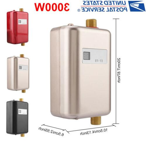 3000w 110v tankless instant electric hot water