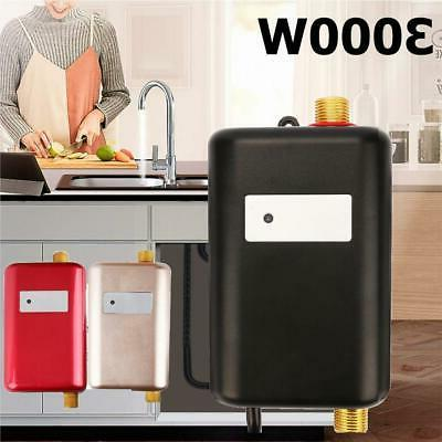 3000w mini electric instant tankless hot water